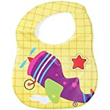 Imported Water Proof Feeding Bibs With Velcro Closure PACK OF 1 - B0776C6BSF