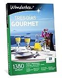 WONDERBOX Caja Regalo -Tres DÍAS Gourmet- 1.380 hoteles para Dos Personas