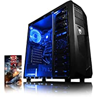 VIBOX Theta 3 Gaming PC Computer with War Thunder Game Voucher (4.0GHz AMD FX Quad-Core Processor, Nvidia GeForce GT 710 Graphics Card, 4GB DDR3 1600MHz RAM, 1TB HDD, No Operating System)