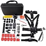 Hamimelon 53in 1sport Action Camera accessori kit per GoPro Hero Session