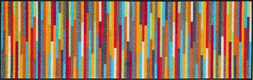 wash + dry 060840 Fußmatte Mikado Stripes 60 x 180 cm