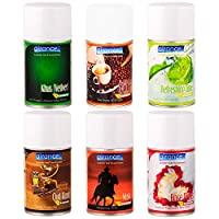 Airance Automatic Room Freshner Refill Air Freshener Spray - 250 ML- Pack of Six - Fit All Machines Using 250 ML / 300 ML Bottles