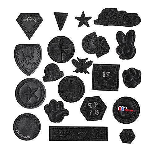 Iron-on patch-20 piezas ropa adhesivos parche insignia