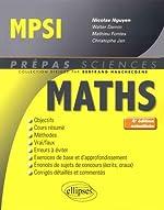 Mathématiques MPSI - 4e édition actualisée de Walter Damin