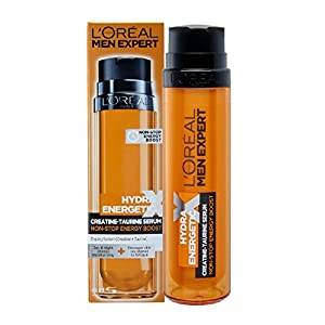L'Oreal Men Expert Hydra Energetic X Taurine boost Moisturizer fluid kick-start wake-up, 50ml