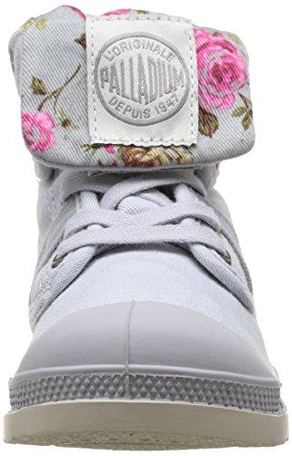 Palladium Baggy Twl K, Boots mixte enfant Gris (549 Lunar/Flower)