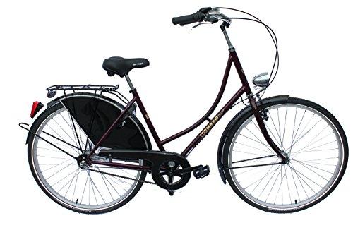 Den Haag Damen Hollandfahrrad Dutch Lady Fahrrad Bike BlackBerry