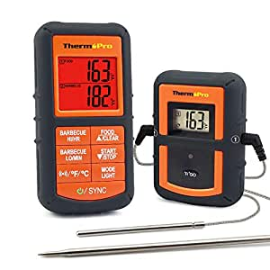 ThermoPro TP08 Barbecue Funk Grillthermometer Set