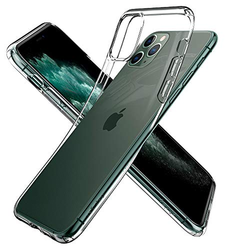 Spigen Cover iPhone 11 PRO Liquid Crystal Progettato per Apple iPhone 11 PRO Custodia - Crystal Clear