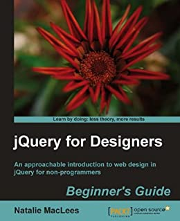 jQuery for Designers: Beginner's Guide by [MacLees, Natalie]