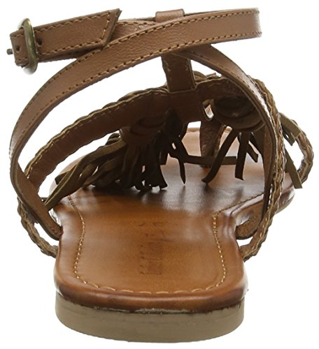 Spot on F0950 Damen Sandalen Braun (Clair)