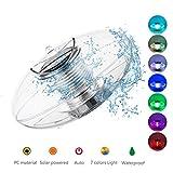 Lumière de Piscine Solaire Flottant Lumière Étang lumière étanche flottant Boule Lampe solaire lumières Couleur Changement pour piscine bassin de jardin Chemin Décoration