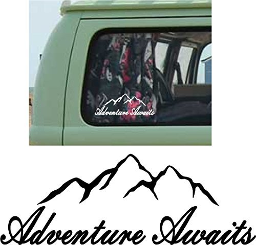 Online Design MOUNTAINS Car Bumper Sticker Decal vinyl for sale  Delivered anywhere in UK