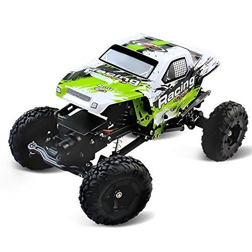 1:24 Skala RC Rennwagen 2.4G Hochgeschwindigkeits-4WD Elektrischer Energie-Buggy weg vom Straßen-Auto