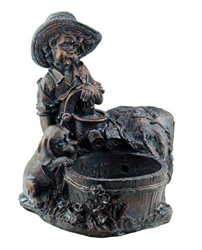 blagdon-1054416liberty-woodland-sydney-stoat-wasser-speier-figur