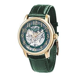 EarnShaw-Longitude-Herren-Armbanduhr-44mm-Armband-Leder-Handaufzug-ES-8062-06
