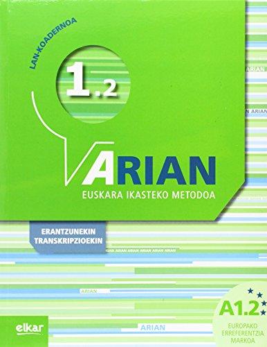 Arian A1.2 Lan koadernoa: (+erantzunak)