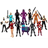 ginkago Fortgame Action Figures Modell , Fort Game Character Figures 12Pcs Pack...