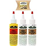 Wild Growth Set - Hair Oil 4oz ( 2 Pack ) and Light...