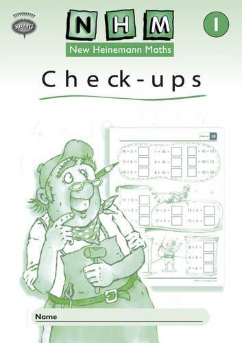 New Heinemann Maths Year 1, Check-up Workbook (single)