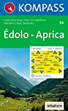 Edolo, Aprica: Wander-, Rad- und Skitourenkarte. 1:50.000