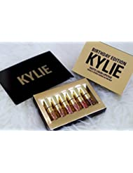 Kylie Jenner Limited Edition Birthday Kylie Matte Liquid Lipstick Cosmetics by Kylie Jenner Birthday Edition