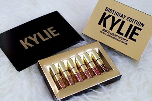 Kylie Jenner Limited Edition Birthday Kylie Matte Liquid Lipstick Cosmetics by Kylie Jenner Birthday (Up Preis Make Kit)
