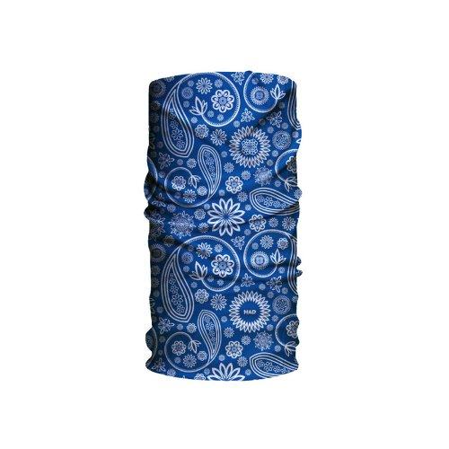 H.A.D. Head Accessoires Original, Sciarpa Unisex Adulto, Blu (Paisley 02 Blue Bf), Taglia unica