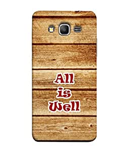 PrintVisa Healthy Quote 3D Hard Polycarbonate Designer Back Case Cover for Samsung Galaxy Grand 3 :: Samsung Galaxy Grand Max G720F
