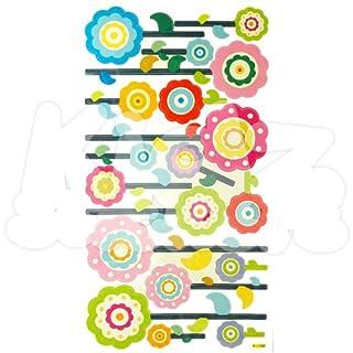 Flower Wall Stickers Kids, Nursery Bedroom