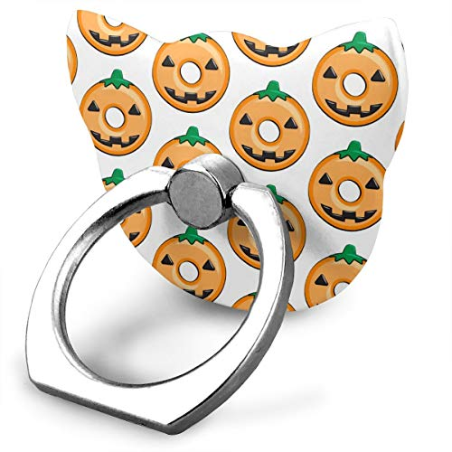 Halloween Phone Ring Stand Holder,Personalized Custom Finger Ring Mount Phone Holder for Phone and Other Smartphone and Tablet ()