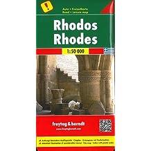 Rhodos, Autokarte 1:50.000, freytag & berndt Auto + Freizeitkarten