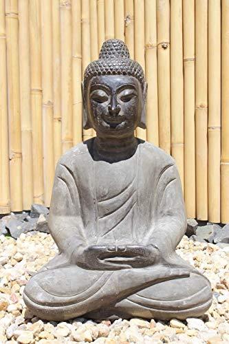 Asien lifestyle Jardín Buda Estatua Amitabha 60cm