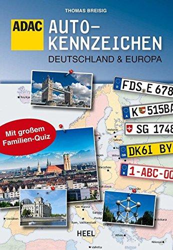 Preisvergleich Produktbild ADAC: Autokennzeichen Deutschland & Europa