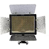 YONGNUO YN-300 II 300 LED Camera / Video Light avec telecommande pour Canon, Nikon, Samsung, Olympus, JVC, appareils photo Pentax et camescopes, 3200-5500K la temperature de couleur reglable