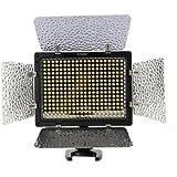 YONGNUO YN-300 II 300 LED Camera / Video Light avec telecommande pour Canon, Nikon, Samsung, Olympus, JVC, appareils photo Pentax et camescopes, 3200-5500K la temperature de couleur reglable
