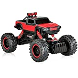 NSinc Dirt Drift Waterproof Remote Controlled Rock Crawler RC Monster Truck 2018- Random Color