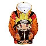 CTOOO 2018 Naruto 3D Druck Damen Herren Kapuzenpullover Hoodies Sweatshirt Paare Pullover Baseball-Uniform Schwarz Loose Fit XXS-XXXXL
