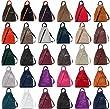 Handbag Bliss Super Soft Italian Leather Rucksack & Shoulder Bag (Grey with Brown)