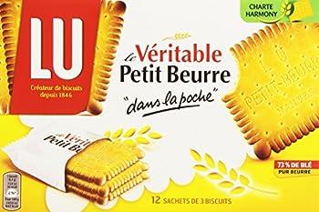 Lu Biscuits au Beurre Pocket 12 Sachet de 3 Biscuits 300 g