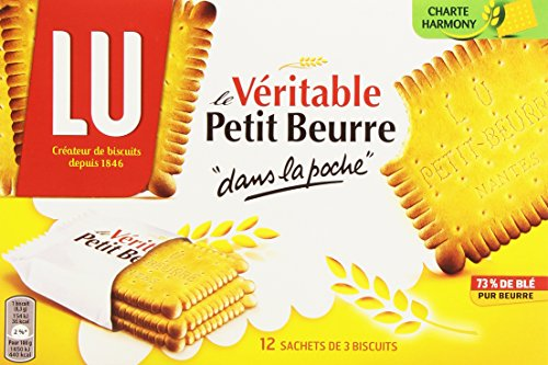 Lu Biscuits au Beurre Pocket 12 Sachet de 3 Biscuits 300 g