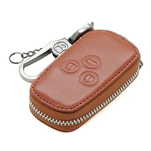 echt-leder-tasche-mit-reissverschluss-key-cover-fall-halter-fur-honda-acura-flip-fernbedienung-schlu