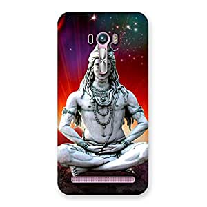 Gorgeous Shiva Yog Back Case Cover for Zenfone Selfie