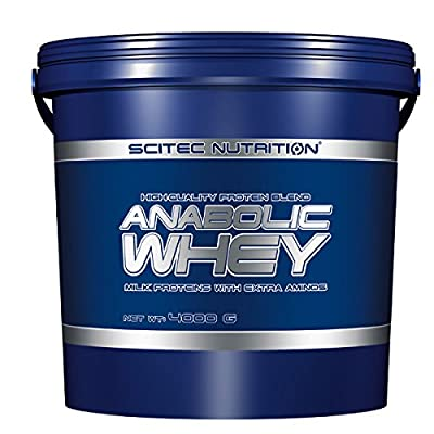 Scitec Nutrition High Quality Anabolic Whey Protein Blend Powder - 4000g, Chocolate from SCITEC