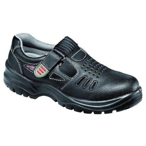 Footguard 641830–200–40Sicherheit Schuhe,luftig Low S1P SRC, Größe 6,5, Schwarz