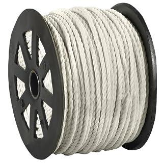 Aviditi TWR104 Polypropylene Twisted Rope, 600' Length x 1/4