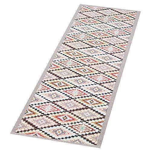 Zala Living Navajo Waschbarer Küchenläufer, Polyamid, Bunt, 140 x 45 x 0.5 cm -