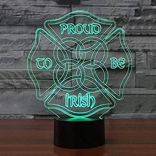 FSKJXYD Sport Auto 3D Lampe 7 Farbe Led Nachtlampe Für Kinder Touch Usb Tisch Baby Sleeping Nachtlichter Für Kid Dream
