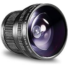 Neewer® 52mm 0.20X alta definición AF Ojo de Pez Lente para NIKON D5200D5100D5000D3300D3100D3000D7100D7000D90D 80DSLR Cámaras