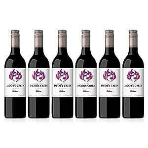 Jacobs Creek Classic Shiraz Wine, 2016/2017, 75 cl (Case of 6)